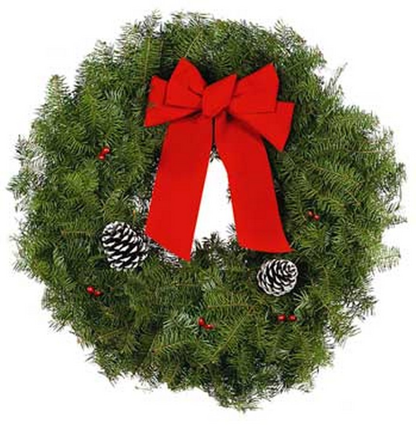 26 wreath our most popular item - Fresh Christmas Greenery