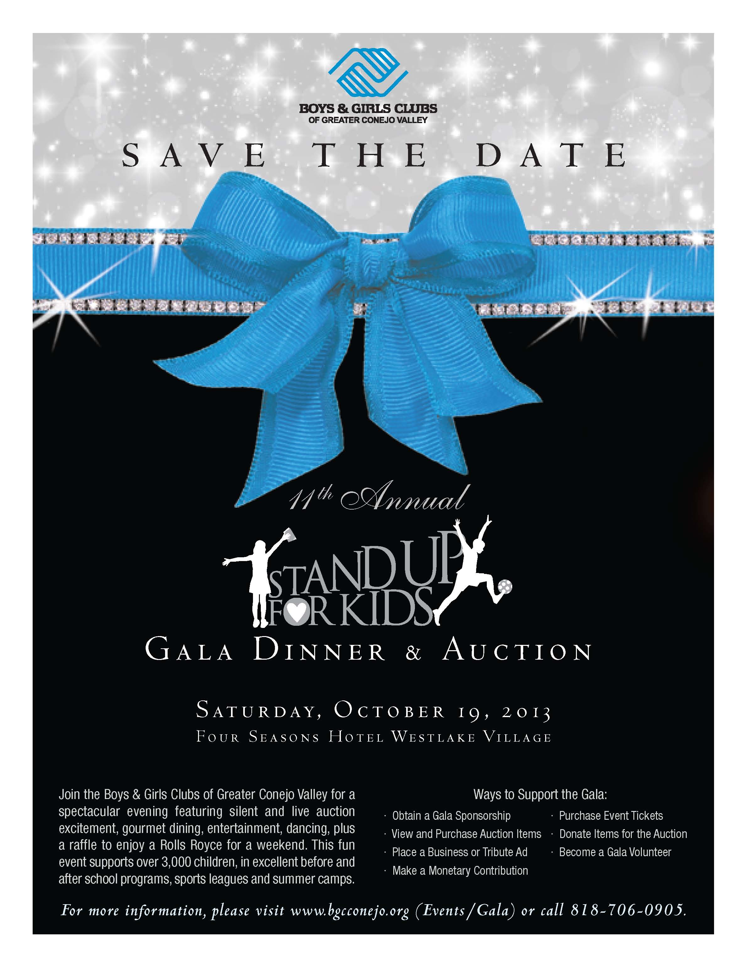 th annual stand up for kids gala dinner auction click here to view gala invitation